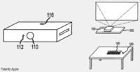 Apple patenta un nuevo tipo de ordenador basado en un proyector, ¿nuevas posibilidades?