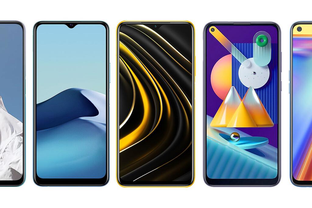 Xiaomi POCO M3, comparativa: así queda contra Realme 7, OnePlus Nord N100, Redmi Note 9 y resto de competencia en Android