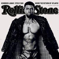 Chadwick Boseman enciende internet con su físico en la portada de Rolling Stone