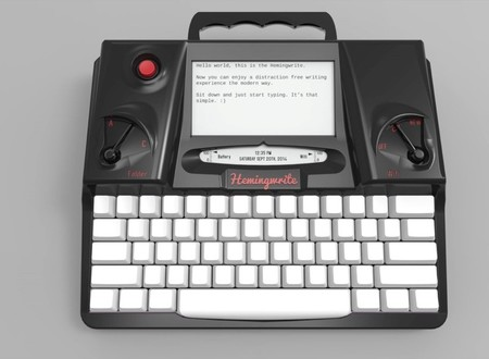 Hemingwrite Black Render Low