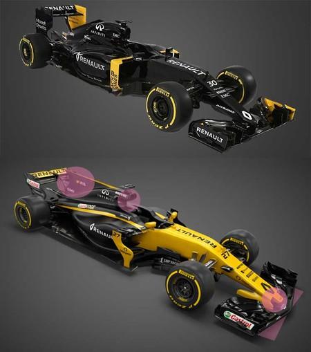 Renault R.S.17, comparación