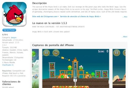 angry birds app store apple