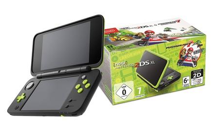 Por el Black Friday, tienes la Nintendo 2DS XL Verde Lima con Mario Kart 7 por sólo 95,95 euros en eBay