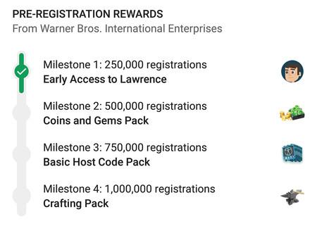 Google Play ya permite a los juegos ofrecer diferentes recompensas según el número de pre-registros