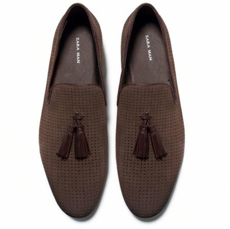 Clon De La Semana Zara Loafers Borlas