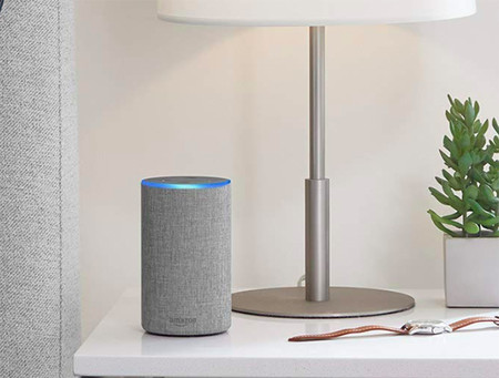 Amazon Echo Altavoz Inteligente Amazon Espana Gris