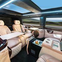 El Mercedes Clase V Maybach es un exceso sobre ruedas que puedes disfrutar si viajas a París