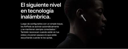 Apple AirPods carga inalámbrica con descuento en Amazon México