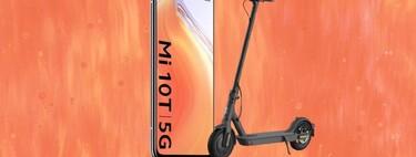Xiaomi Mi 10T y Mi 10T Pro a precio mínimo en PcComponentes y El Corte Inglés y por 100 euros más el Xiaomi Mi Scooter Essential