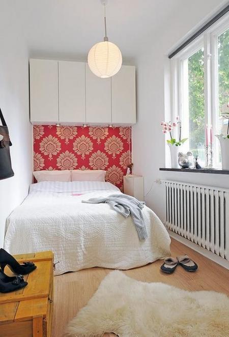 Puertas abiertas: un pequeño apartamento en Suecia (II)