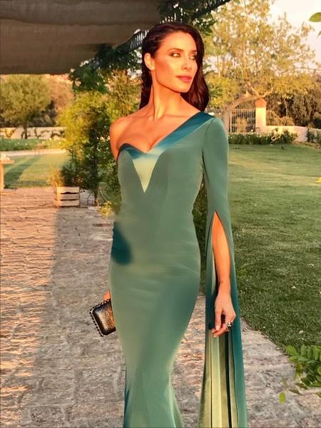 Pilar Rubio se va de boda y este ha sido su look de invitada perfecta