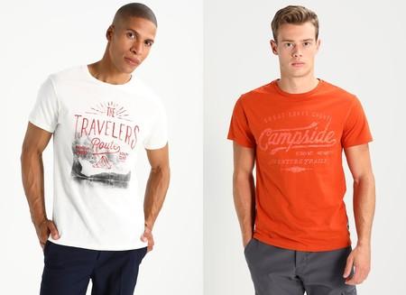 40% de descuento en estas camisetas Pier One en blanco y en naranja: cuestan sólo 10,15 euros con envío gratis en Zalando