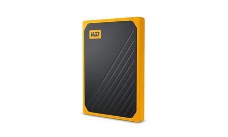 Precio mínimo en Amazon para el TB SSD portable del Western Digital My Passport Go: ahora por sólo 134,99 euros