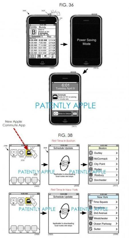 Commute Apple Patente
