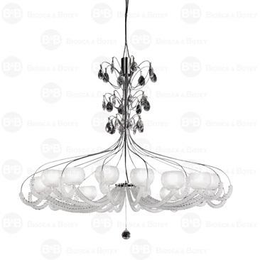Lámpara chandelier con cristales Swarovski: On