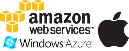 ¿Usará iCloud los servicios de Microsoft Azure y Amazon AWS?
