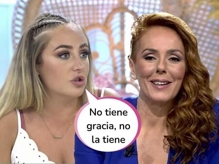 """Rocío Flores atiza a su madre por el famoso 'No tiene coño, no lo tiene' a Olga Moreno: """"La frase que suelta en el documental me parece vergonzosa (pero la carta de Antonio David no)"""""""