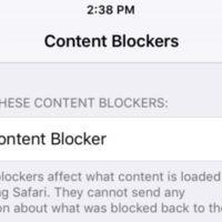 Bloqueo de contenido en iOS 9