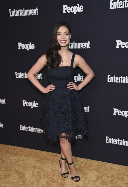 people entertainment weekly fiesta look estilismo outfit Auli I Cravalho