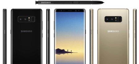 Este es el Galaxy Note 8, aparecen imágenes que lo muestran en todo su esplendor