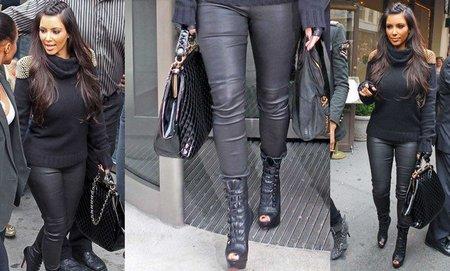 ¡Atención! ¡Kim Kardashian en cueros!