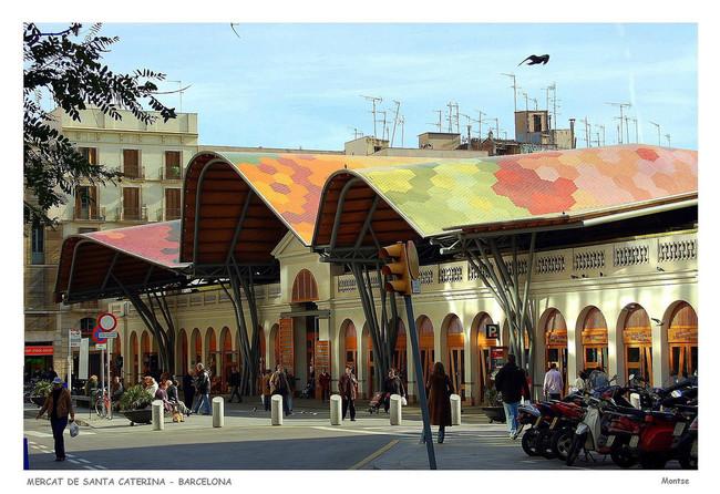 Mercado Santa Caterina Barcelona