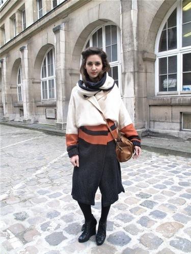 Looks de calle informales: desafía al frío. Moderno