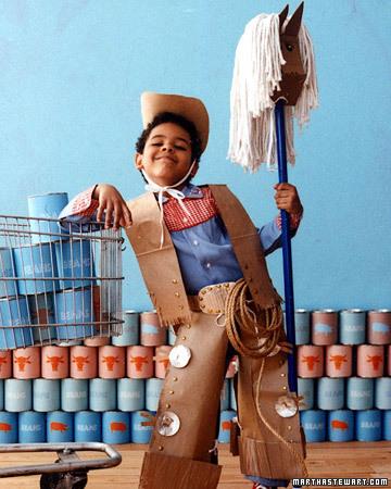 Disfraces infantiles para carnavales: disfraz de vaquero