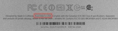 ¿Lo más curioso del nuevo iMac? Está fabricado en Estados Unidos