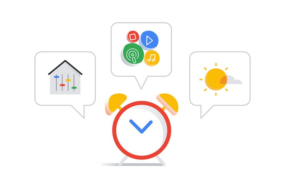 El Asistente de Google® prepara una sección para planificar acciones