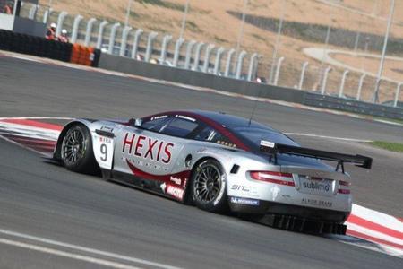 FIA GT1 en el Circuito de Navarra. En la pista