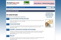 ScriptCopy.com, busca scripts similares a tus servicios web favoritos