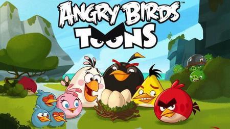 Angry Birds lanza el primer episodio de su caricatura.