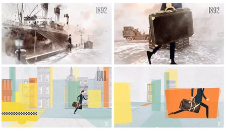 "Louis Vuitton presenta su última animación: ""Going with the flow"""