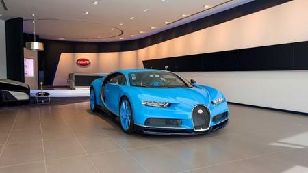 Bugatti Dubai Showroom 1