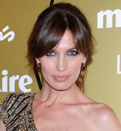 El look de Nieves Álvarez en los Prix de la Moda 2011 como imagen de Pandora