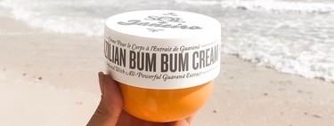 Brazilian Bum Bum Cream, la crema corporal favorita de las brasileñas, Rosie Huntington-Whiteley y Hailey Bieber tiene un olor tan rico a verano que no paro de usarla