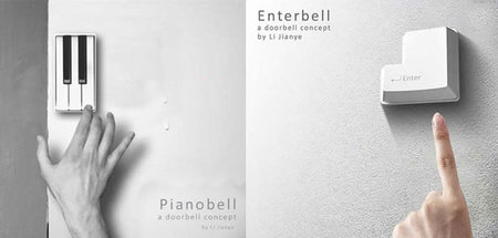Pianobell Enterbell