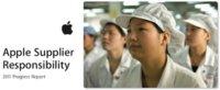 Apple emite un documento sobre el estado de las fábricas en China