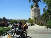 Las vacaciones de Moto 22, Plasencia-Cádiz