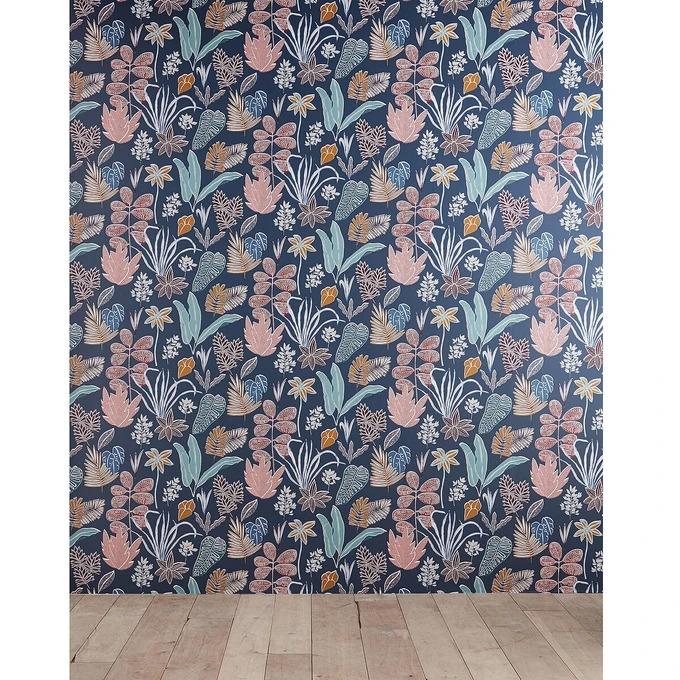 Papel pintado panorámico estampado 2,56x2,7m Alisina