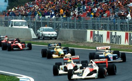 Salida GP España 1991