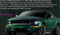 Primera imagen ¿oficial? del Ford Mustang Bullitt