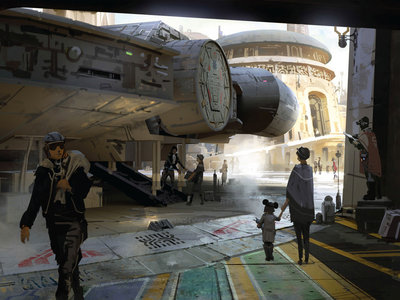 Star Wars Land es sólo el inicio: Disney prepara un lujoso y exclusivo hotel con diseño de nave espacial