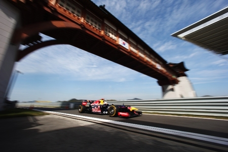 Sebastian Vettel y Red Bull marcan la pauta en el Gran Premio de Corea