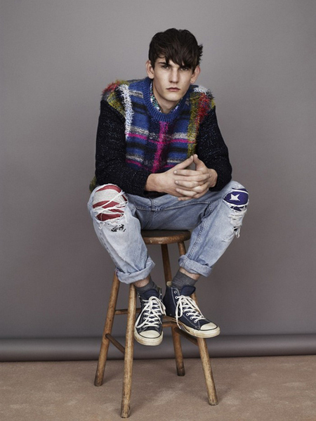 James Long para Topman