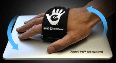 Hand-e-Holder, accesorio original para sujetar el iPad