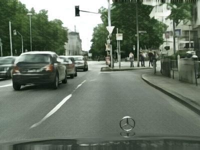 """No, no es una calle que puedas encontrar con Google Maps, es un invento de una inteligencia artificial """"artista"""""""