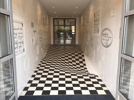Este piso te hará sentir como en Alicia en el País de las Maravillas