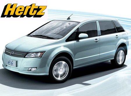 Hertz alquilará coches eléctricos...en China